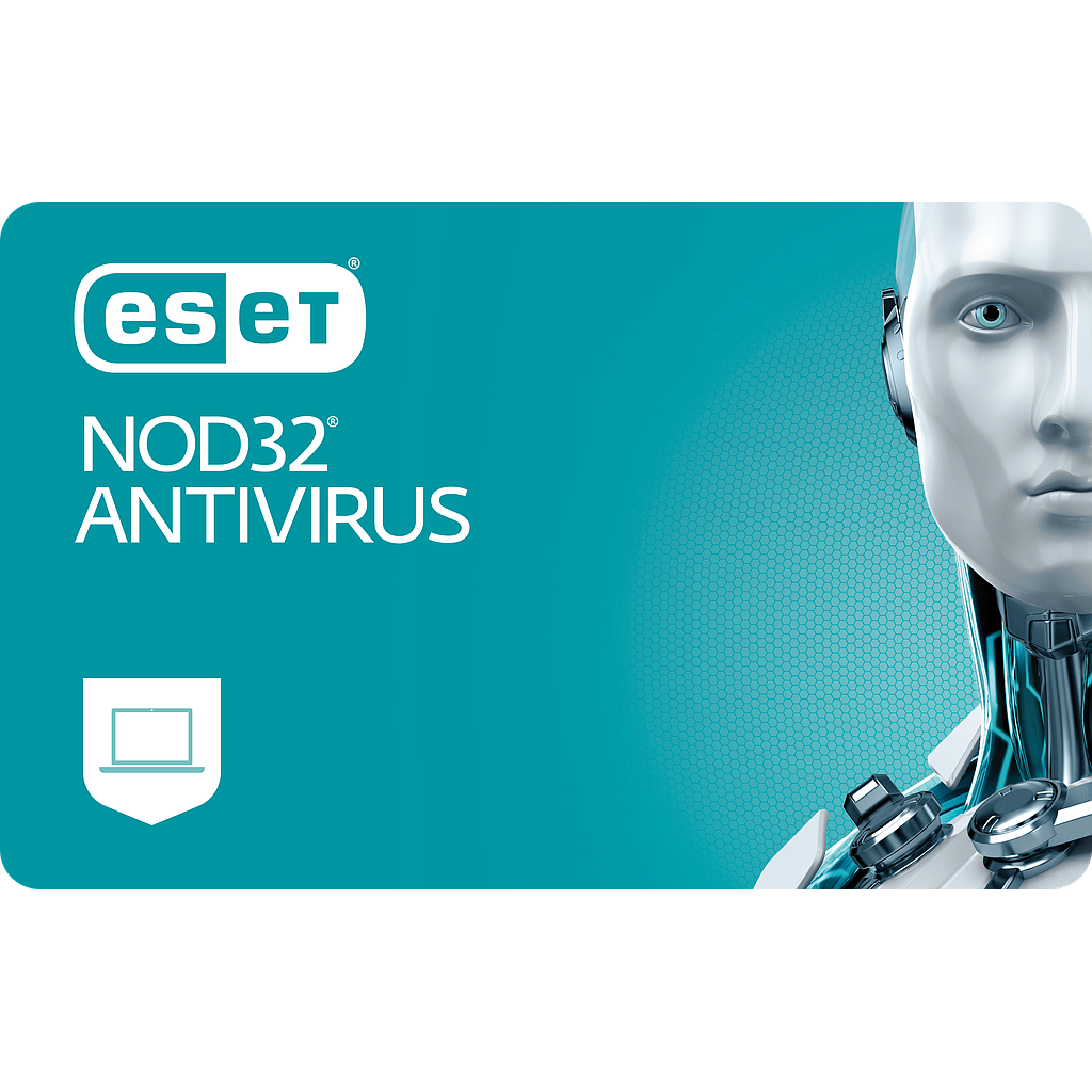 ESET NOD32 Antivirus 2 komp. 1 m. studentams